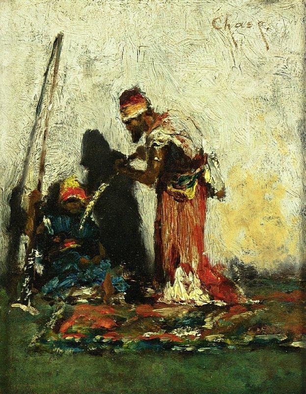 Two Arabs - William Merritt Chase
