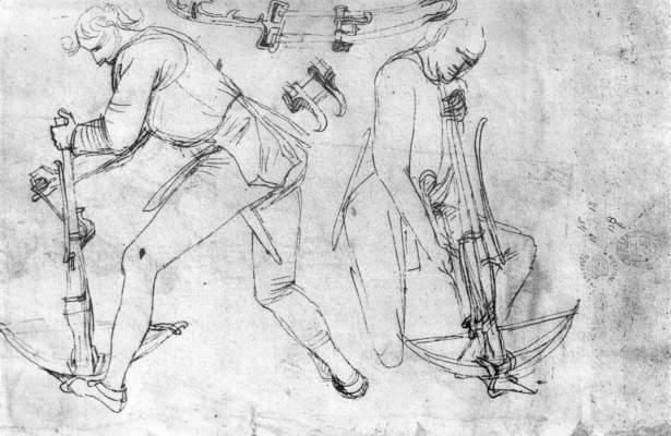 Two Armbrustspanners - Martin Schongauer