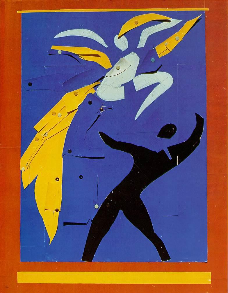 Two Dancers (Study for Rouge et Noir - Henri Matisse