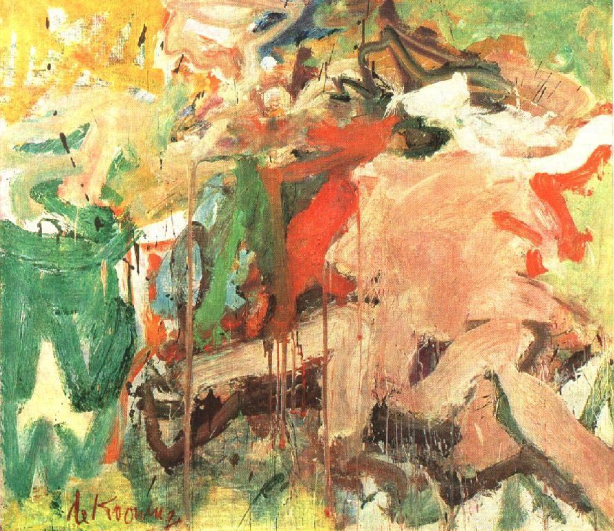 Two Figures in a Landscape - Willem de Kooning