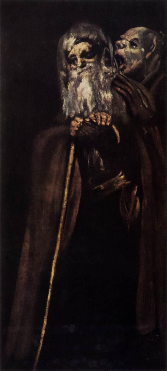 Two Monks - Francisco Goya