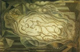 Two naked  - Andre Masson