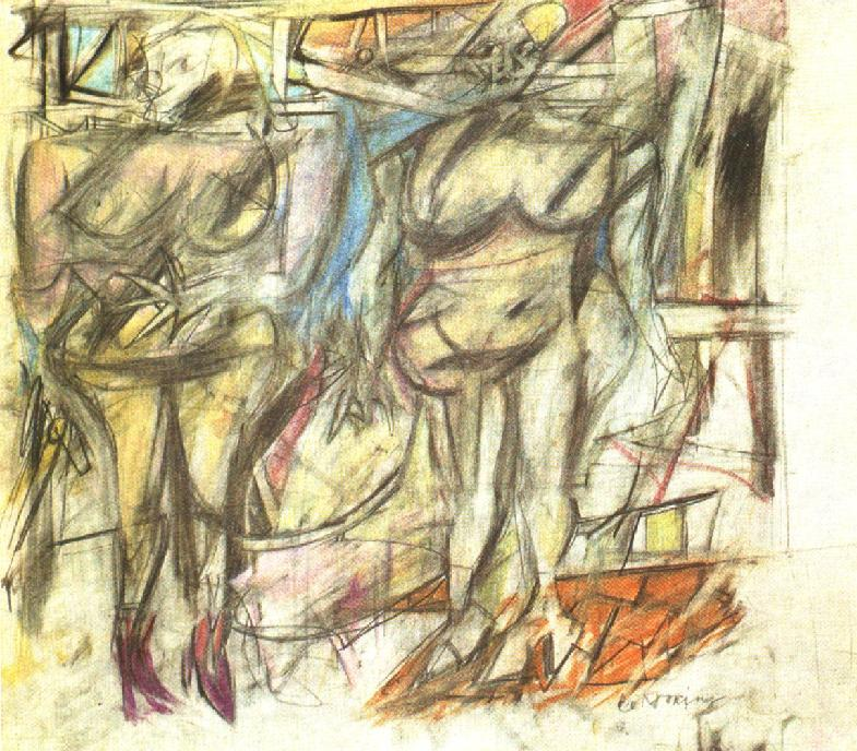 Two Woman IV - Willem de Kooning