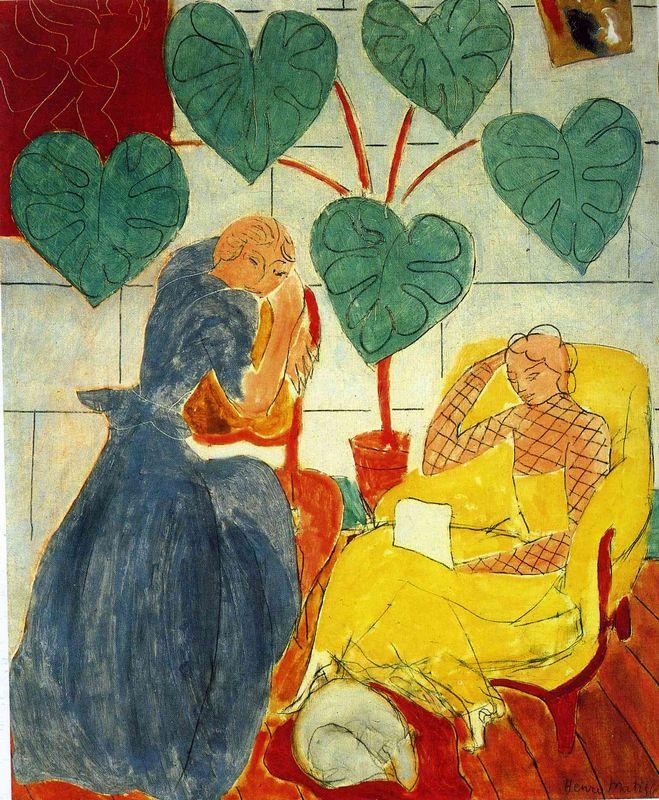 Two Women - Henri Matisse