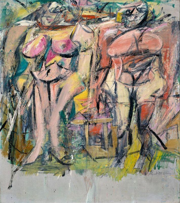 Two Women in the Country - Willem de Kooning