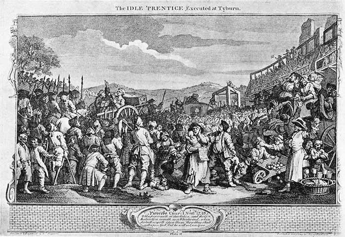 Tyburn Large - William Hogarth