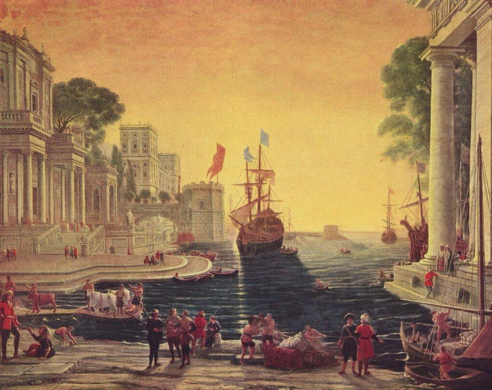 Ulysses Returning Chryseis to her Father - Claude Lorrain