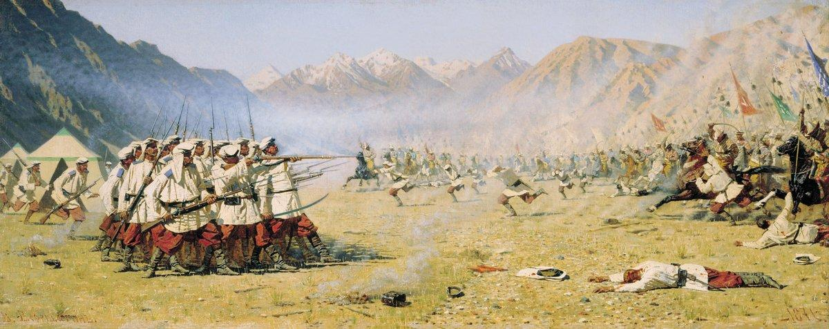 Unawares attack - Vasily Vereshchagin