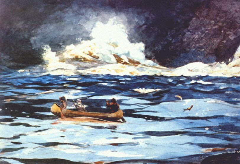 Under the Falls, the Grand Discharge - Winslow Homer