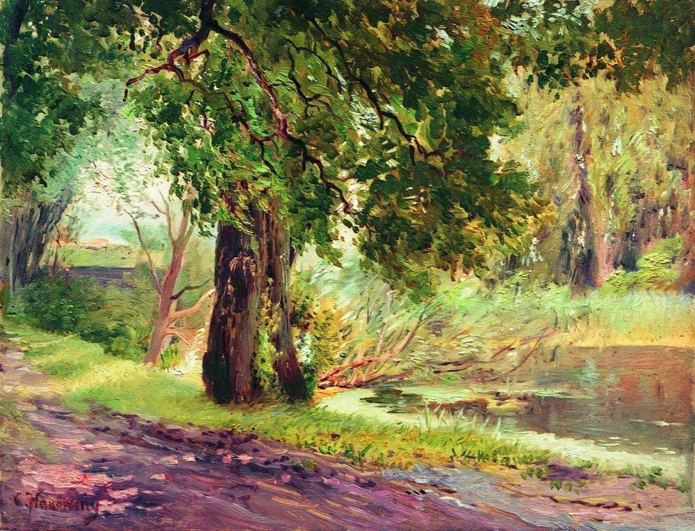 Under the Green Trees (Summer Landscape) - Konstantin Makovsky