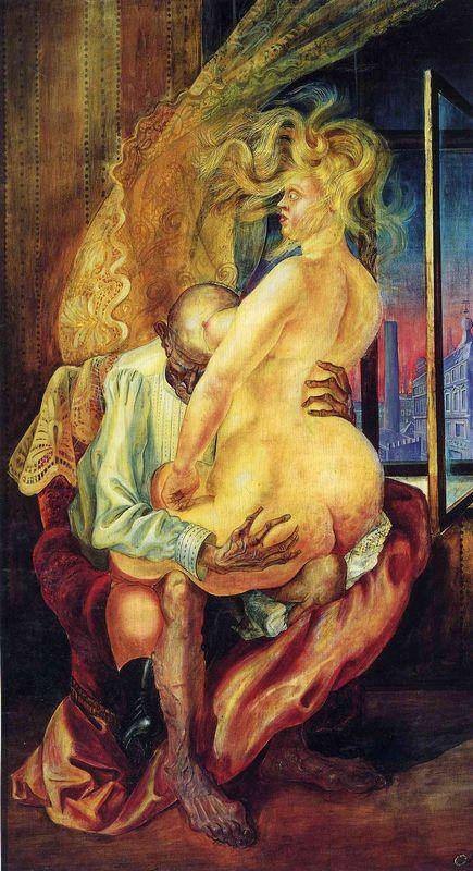 Uneven couple - Otto Dix