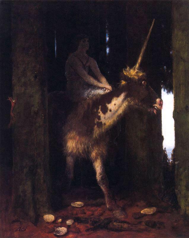 Unicorn - Arnold Bocklin