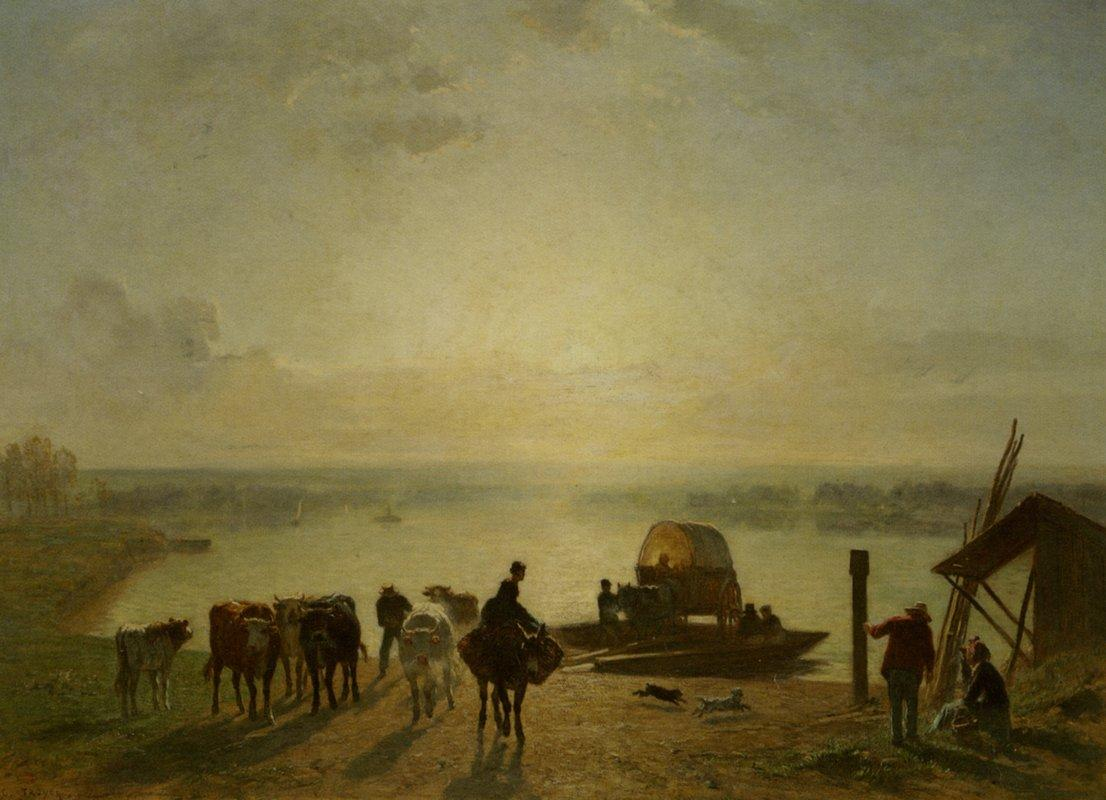 Unloading the Ferry - Constant Troyon