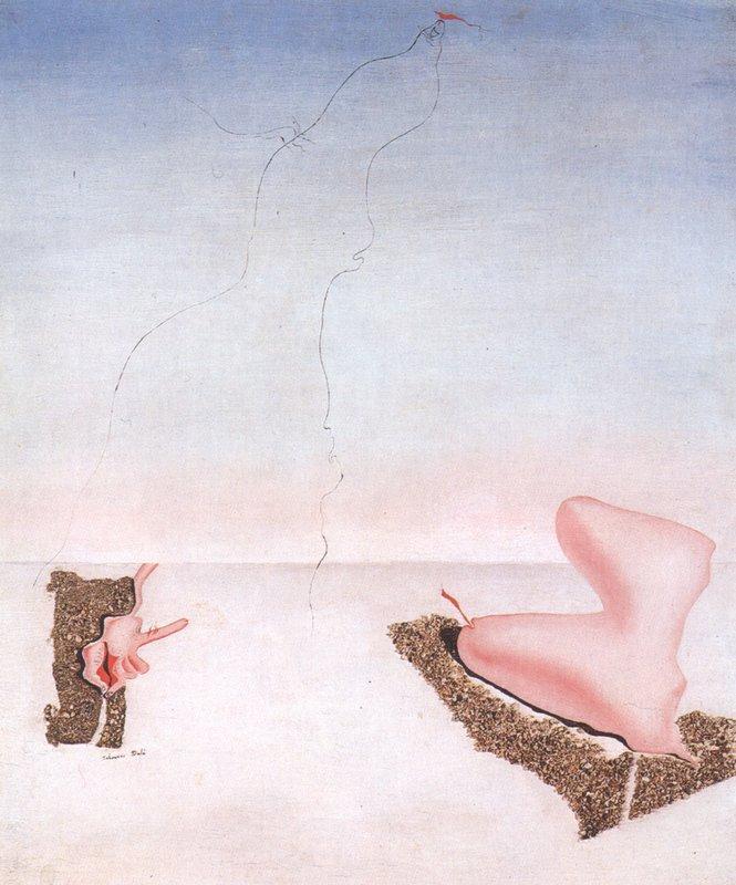 Unsatisfied Desires - Salvador Dali