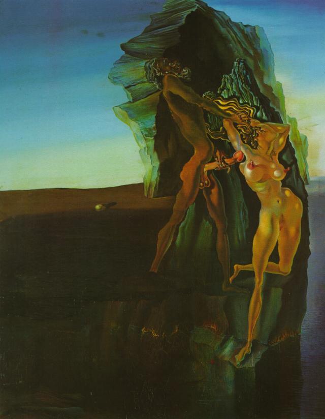 Untided (William Tell and Gradiva) - Salvador Dali