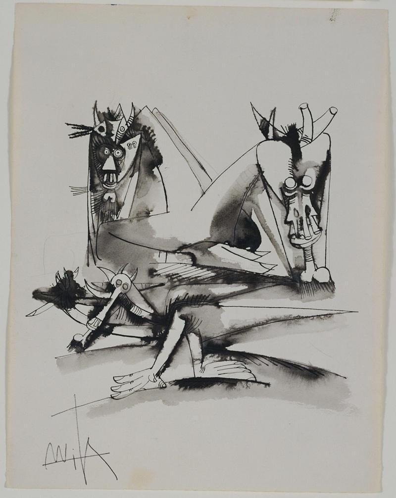 Untitled 0742 - Wifredo Lam