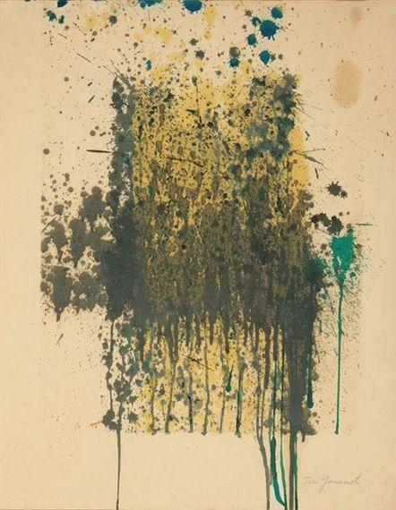 Untitled (Abstract) - Taro Yamamoto