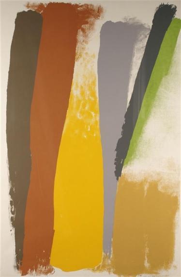 Untitled Abstraction - Friedel Dzubas