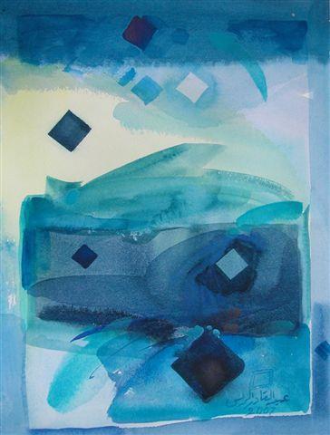 Untitled (AQAR 9-12) - Abdul Qader Al Raes