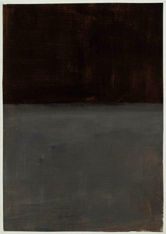 Untitled (brown and gray) - Mark Rothko