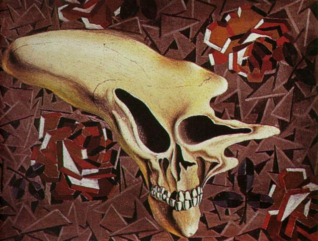 Untitled - Death Outside the Head - Paul Eluard - Salvador Dali