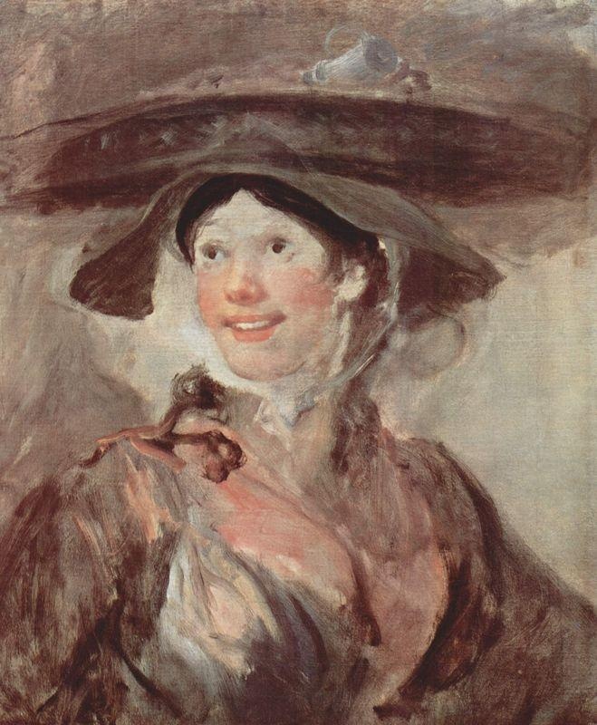 Untitled, dubbed The Shrimp Girl, sometimes The Saleswoman of Crabs  - William Hogarth