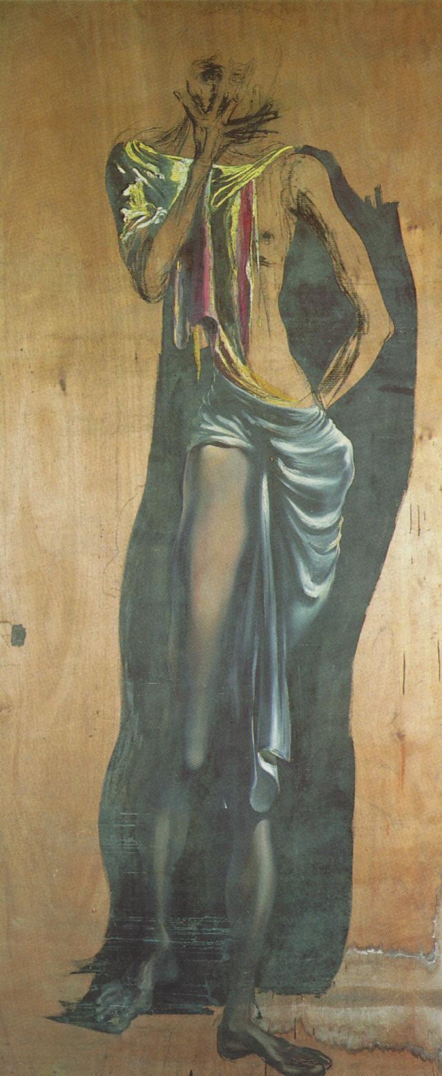 Untitled - Figure (unfinished) - Salvador Dali