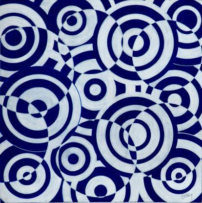 Untitled (Interferences polychromes) - Antonio Asis