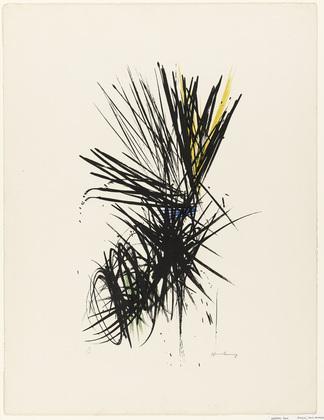 Untitled (L 12) - Hans Hartung