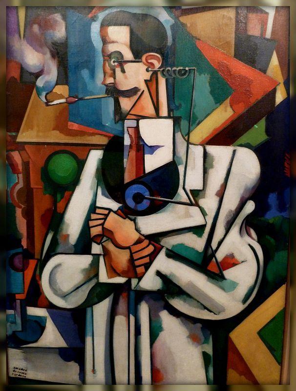 Untitled (Portrait of Paul Alexander)  - Amadeo de Souza-Cardoso