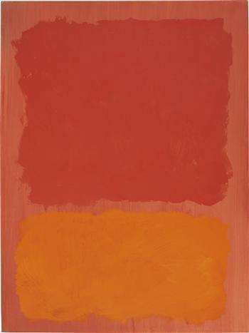 Untitled (Red and Orange on Salmon) - Mark Rothko