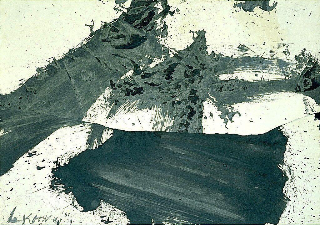 Untitled (verso: Untitled) - Willem de Kooning