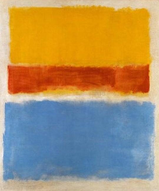 Untitled (Yellow, Red and Blue) - Mark Rothko