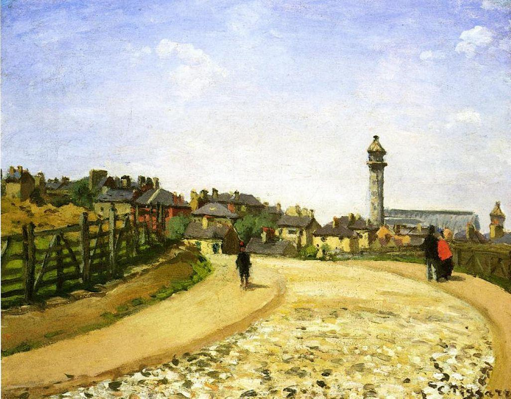 Upper Norwood, Crystal Palace, London - Camille Pissarro