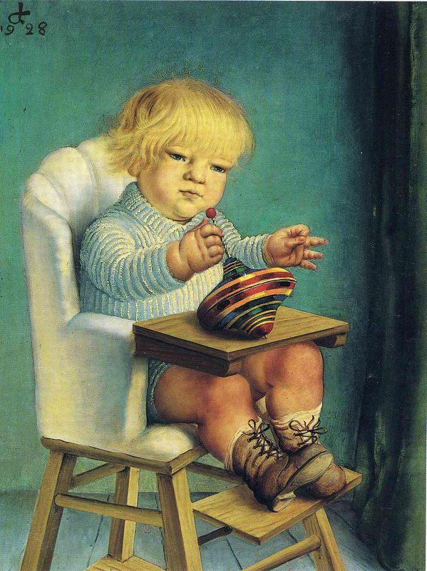 Ursus With Spintop - Otto Dix