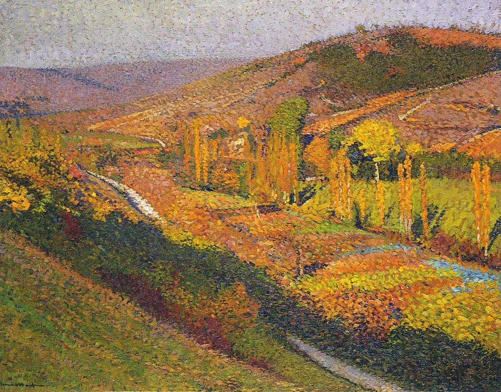 Valley in Labastide du Vert - Henri Martin