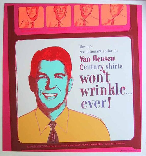 Van Heusen (ronald Reagan) - Andy Warhol