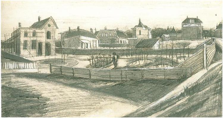 Van Stolkpark - Vincent van Gogh