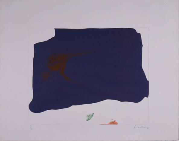 Variation II on Mauve Corner - Helen Frankenthaler