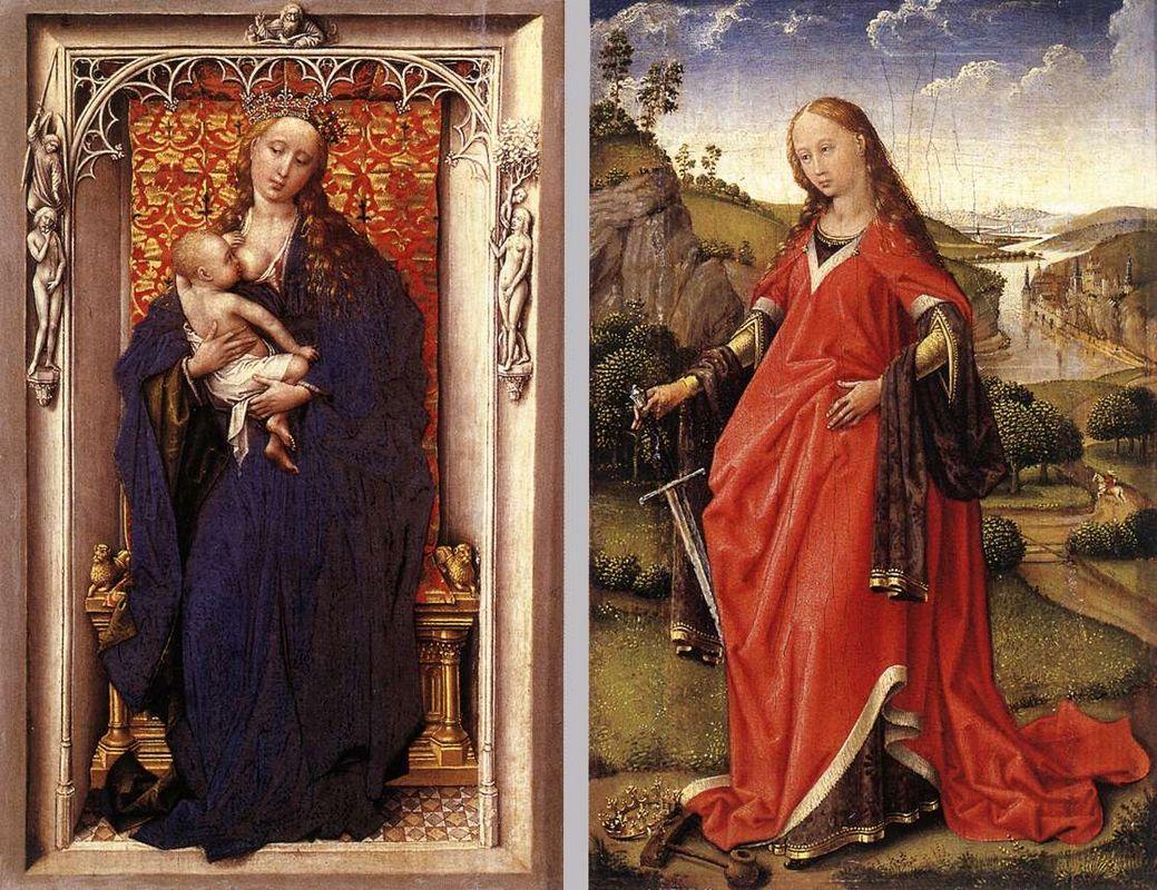 Various Altarpieces - Rogier van der Weyden