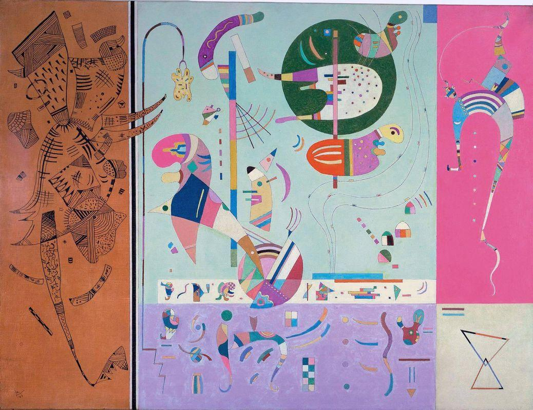 Various Parts -  Wassily Kandinsky