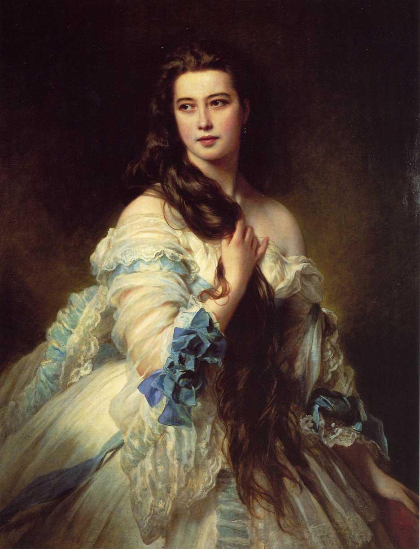 Varvara Rimskaya-Korsakova - Franz Xaver Winterhalter