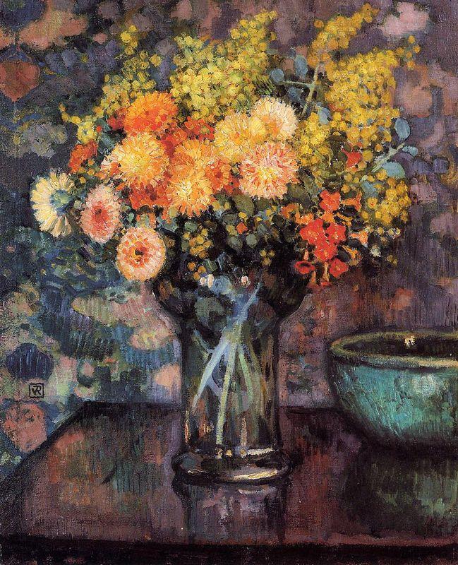 Vase of Flowers  - Henri Rousseau