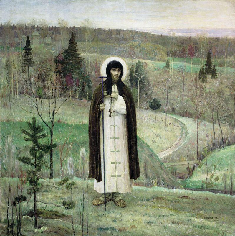 Venerable Sergius of Radonezh - Mikhail Nesterov