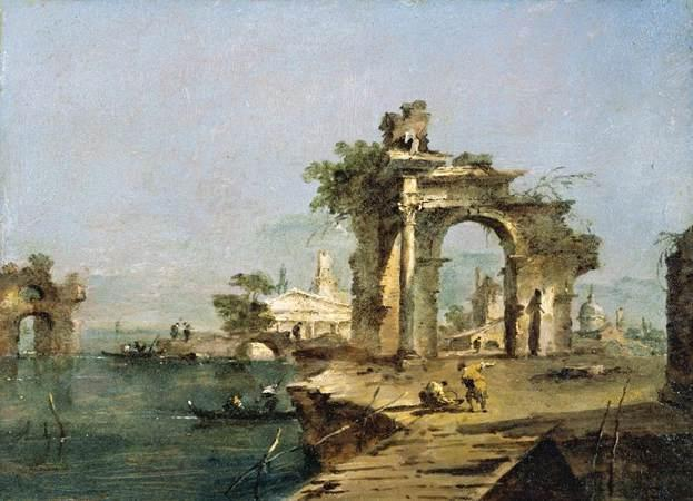Venetian Capriccio - Francesco Guardi