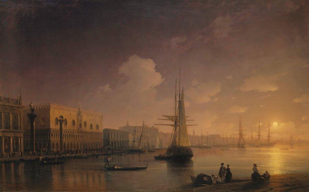 Venetian Night - Ivan Aivazovsky