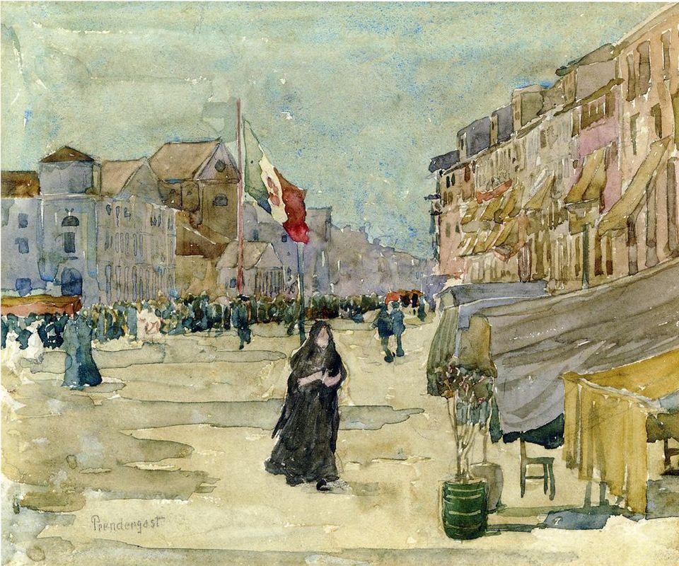 Venetian Scene - Maurice Prendergast