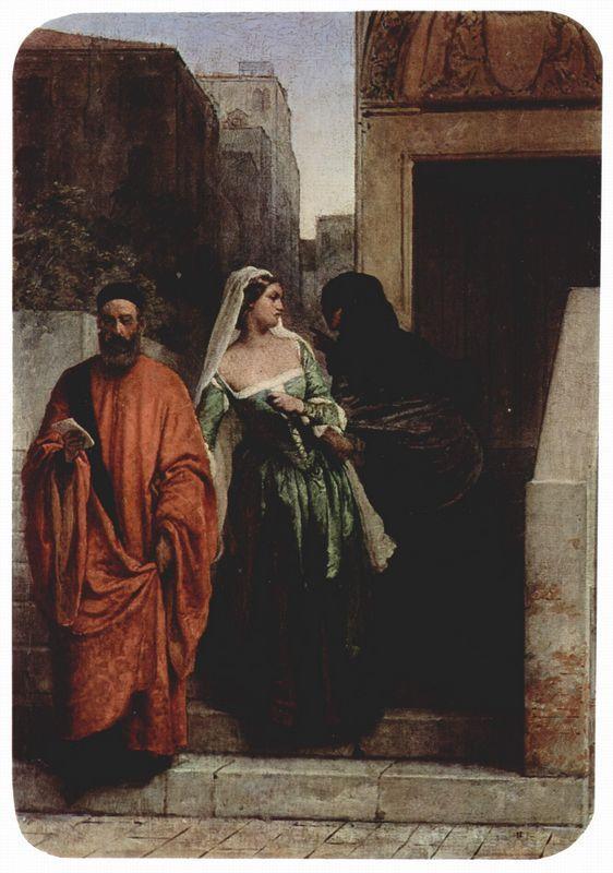 Venetian women - Francesco Hayez