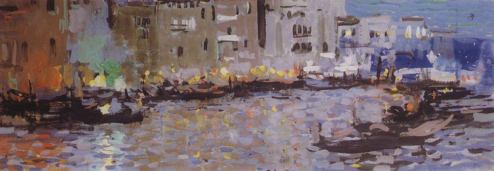 Venice  - Konstantin Korovin