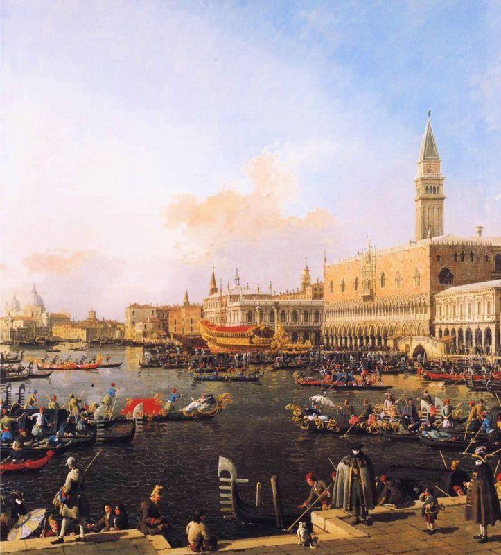 Venice, Bacino di San Marco on Ascension Day - Canaletto